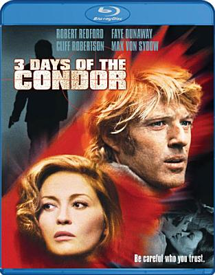 3 DAYS OF THE CONDOR BY REDFORD,ROBERT (Blu-Ray)